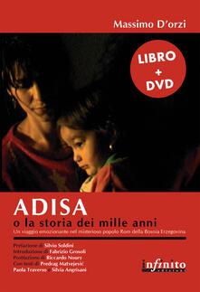 Adisa o la storia dei mille anni. Con DVD - Massimo D'Orzi - copertina