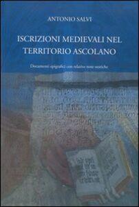 Iscrizioni medievali nel territorio ascolano