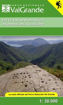 Lpgcsostenible.es Carta escursionistica informazioni turistiche. La carta ufficiale del Parco Nazionale Val Grande 1:30.000. Ediz. italiana e inglese Image