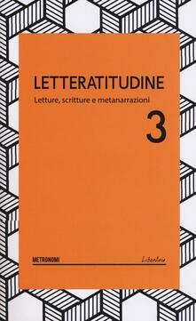 Letteratitudine. Vol. 3 - Massimo Maugeri - copertina