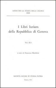I libri iurium della Repubblica di Genova. Vol. 2\3