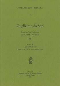 Guglielmo da Sori. Genova, Sori e dintorni (1191, 1195, 1200-1202). Testo latino