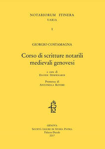 Corso di scritture notarili medievali genovesi