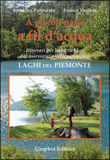 Promoartpalermo.it A piccoli passi a fil d'acqua. Laghi del Piemonte. Itinerari per baby trekker dal marsupio allo scarponcino Image