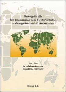 Breve guida alle reti internazionali degli utenti psichiatrici e alle organizzazioni ad essere correlate