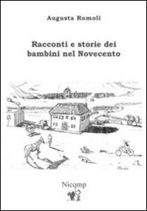 Racconti e storie dei bambini nel Novecento