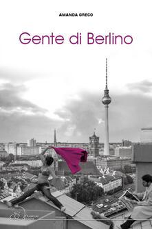 Gente di Berlino - Amanda Greco - copertina