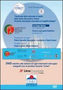 Chirurgia spalla 2012 live surgery eseguiti con la protesi inversa «lima». DVD