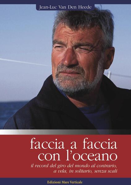 Faccia a faccia con l'oceano - Jean-Luc Van Den Heede - copertina
