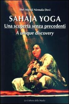 Recuperandoiltempo.it Sahaja Yoga. Una scoperta senza precedenti. Ediz. italiana e inglese Image
