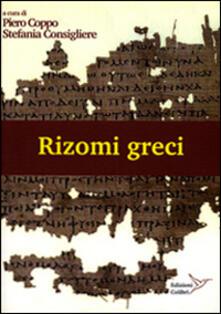 Ascotcamogli.it Rizomi greci. Atti del laboratorio mappe Image