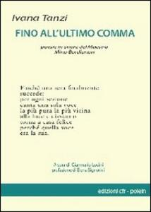 Fino all'ultimo comma. Poesie in memoria di Mino Bordignon