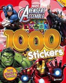 Avengers assemble. 1000 stickers. Con adesivi.pdf