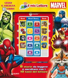 Voluntariadobaleares2014.es Il mio lettore Marvel. Con gadget Image