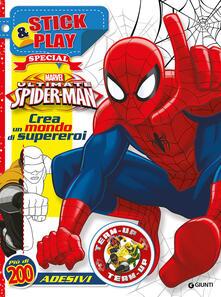 Ultimate Spider-Man. Crea un mondo di supereroi. Stick & play special. Con adesivi. Ediz. illustrata.pdf