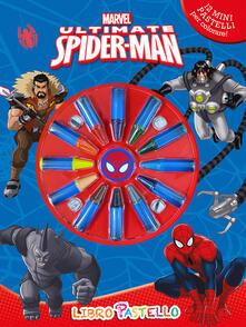 Grandtoureventi.it Ultimate Spider-Man. Libro pastello. Ediz. illustrata. Con gadget Image