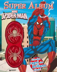 Camfeed.it Spider-Man. Super album. Ediz. illustrata. Con gadget Image