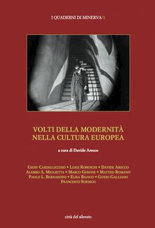 Volti della modernità nella cultura europea - copertina