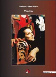 Teatro - Ombretta De Biase - copertina