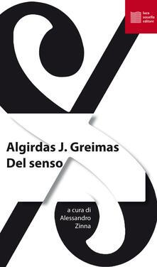 Del senso - Julien Greimas Algirdas - copertina