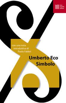 Simbolo - Umberto Eco - copertina