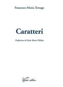 Caratteri - Francesco Maria Terzago - copertina