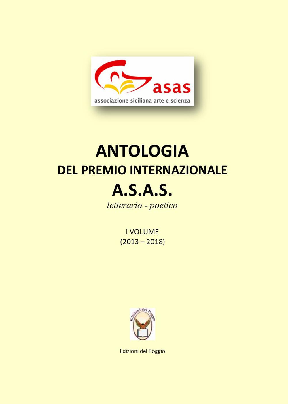 Image of Antologia del Premio letterario A.s.a.s