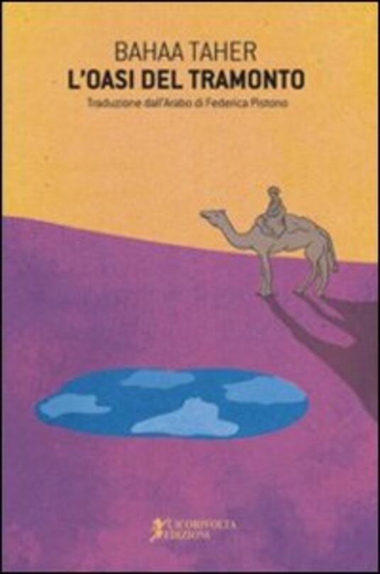 L' oasi del tramonto - Baha Taher - copertina