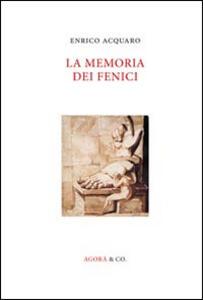 La memoria dei fenici