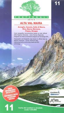 Carta n. 11. Alta valle Varaita, alta valle Maira. Carta dei sentieri e stradale 1:25.000.pdf