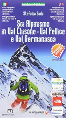 Festivalpatudocanario.es Carta n. 97. Sci alpinismo in Val Chisone, Val Pellice e Val Germanasca 1:25000 Image