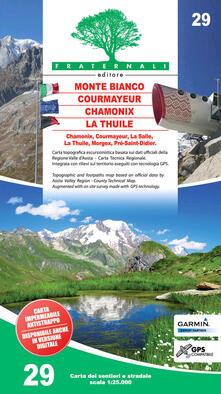 Criticalwinenotav.it Carta n. 29. Monte Bianco, Courmayeur, La Thuile, Chamonix 1:25.000 Image