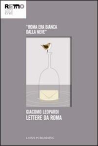 Lettere da Roma