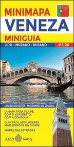 Venezia. Miniguida e minimappa. Ediz. portoghese