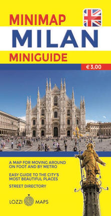 Milano mini map. Ediz. inglese