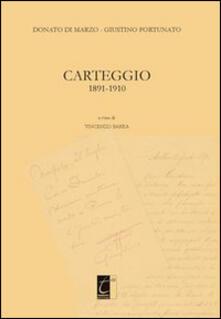Grandtoureventi.it Donato Di Marzo-Giustino Fortunato. Carteggio 1891-1910 Image