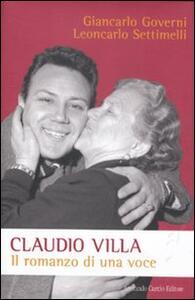 Claudio Villa. Il romanzo di una voce
