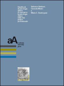 Handbook di psicologia clinica. A cosa serve la psicologia clinica nella mia pratica professionale.pdf