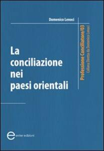 La conciliazione nei paesi orientali