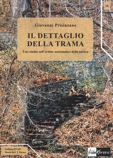 Il dettaglio della trama. Uno studio sull'ordine matematico della natura - Giovanni Prisinzano - copertina