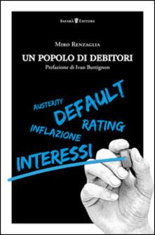 Un popolo di debitori - Miro Renzaglia - copertina