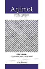 Libro Animot. L'altra filosofia   (2017). Vol. 7: animal, Das.