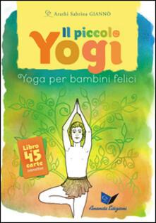 Antondemarirreguera.es Il piccolo yogi. Yoga per bambini felici. Con 45 carte Image