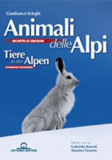 Lpgcsostenible.es Animali delle Alpi. Ediz. italiana e inglese Image
