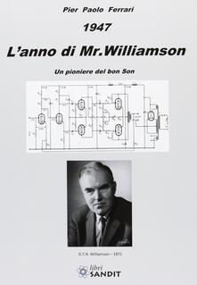 Antondemarirreguera.es 1947. L'anno di Mr. Williamson Image