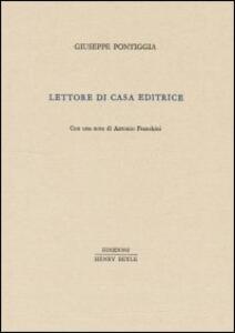 Lettore di casa editrice