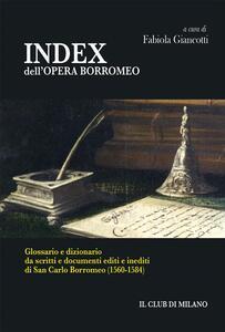 INDEX dell'OPERA BORROMEO - Fabiola Giancotti - ebook