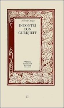 Filippodegasperi.it Incontri con Gurdjieff Image