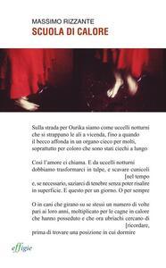 Scuola di calore - Massimo Rizzante - copertina