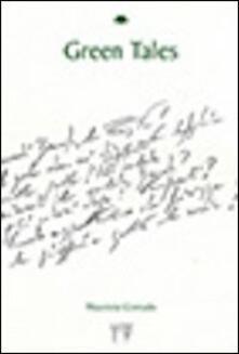 Green tales - Maurizio Corrado - copertina